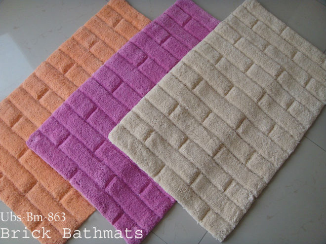 cotton bath mats from india unique lilac mat - Cotton Bathroom Mat