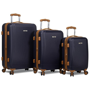 20 24 28inch ABS carry-on travel trolley luggage set