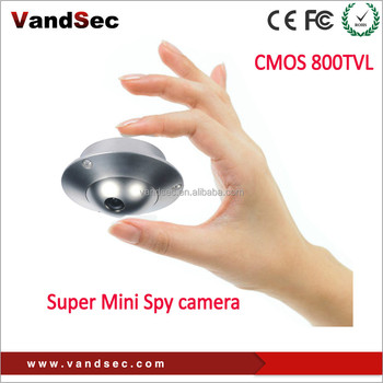 CCD CMOS 800TVL Pinhole and hidden Very mini Spy camera security camera