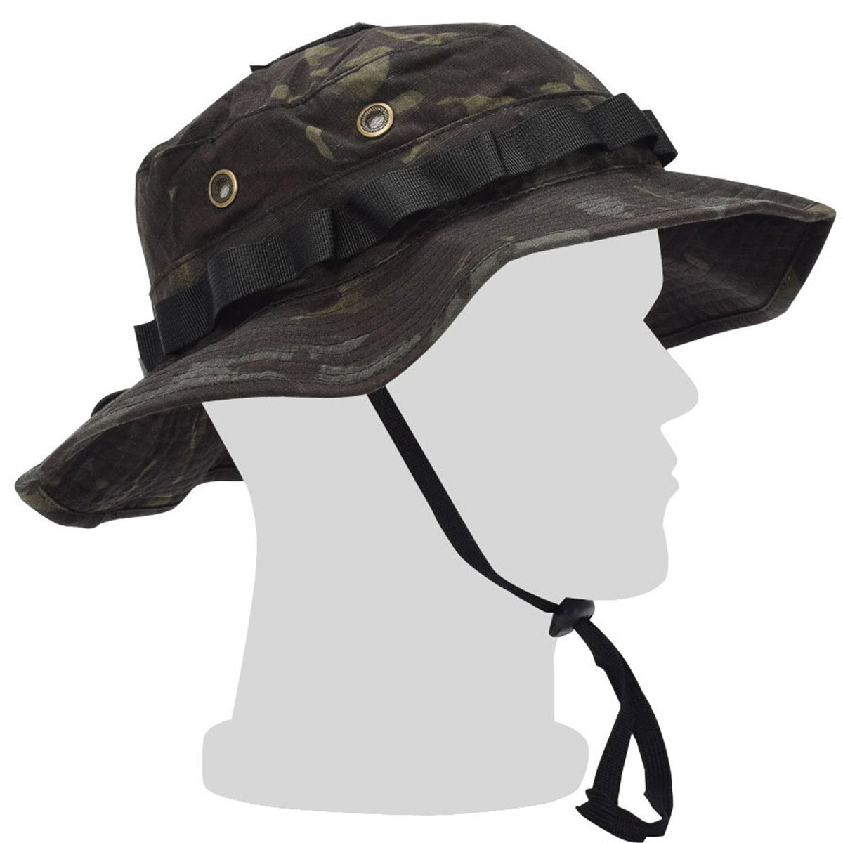 c543a10b Get Quotations · EMERSONGEAR USMC Military Boonie Hat Outback Summer  Tactical Camo Fishing Camping Hunting Sun Cap