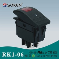 PC Material 4pin Rocker switch for AUTO light Car Boat