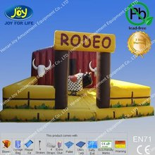 2012 new product inflatable bouncy rodeo games