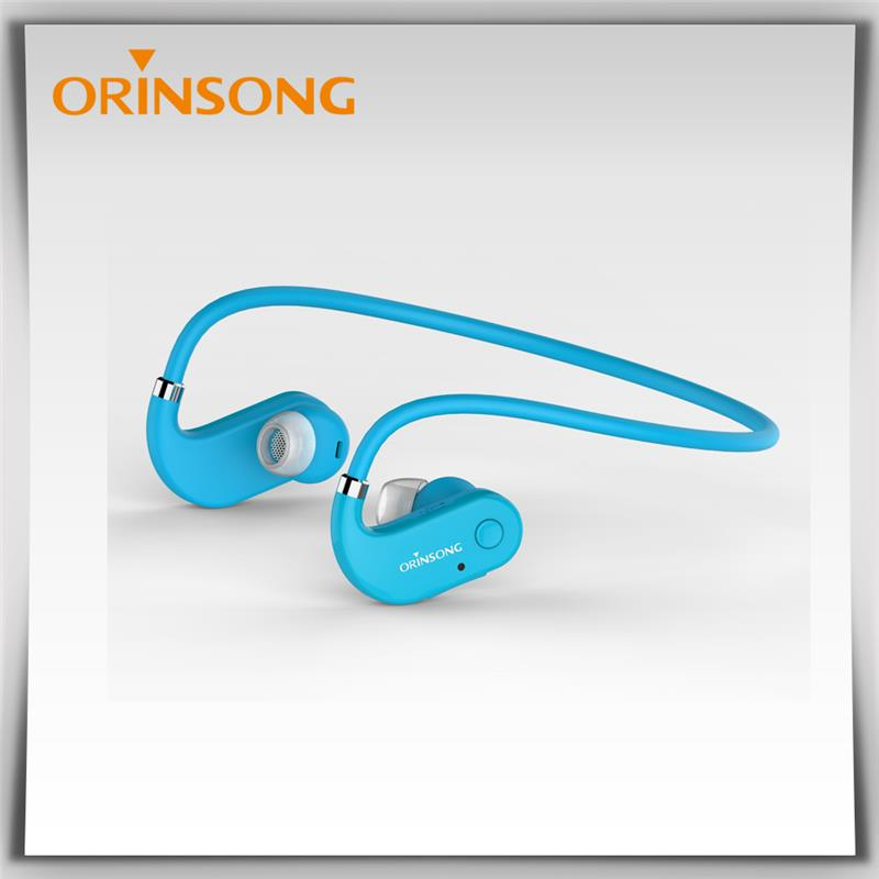 Plastic wireless earphone wireless bluetooth headset origin bluetooth earphone over ear headphones made in China