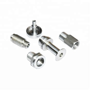 Stainless Steel Lathe CNC Turning Parts Small Size Home Appliance Use