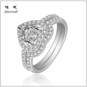 Classic Sterling silver 925 eternal love ring for female