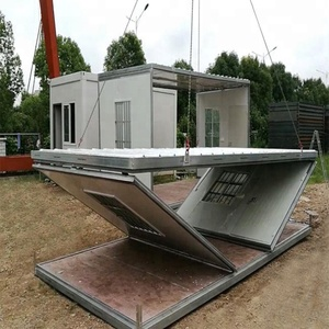 China Suppliers Low Cost Modern Design Modular Living Folding Shipping Prefabricated House Price