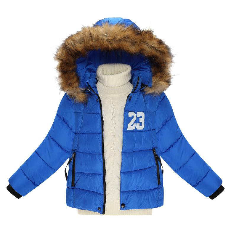Buy Children baby girls clothing new down jacket winter coat ...