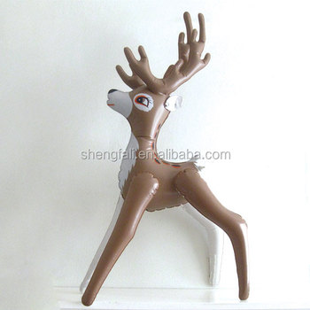New Custom Pvc Toy Inflatable Reindeer For Party