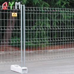Steel gate welded wire mesh fence metal fence netting