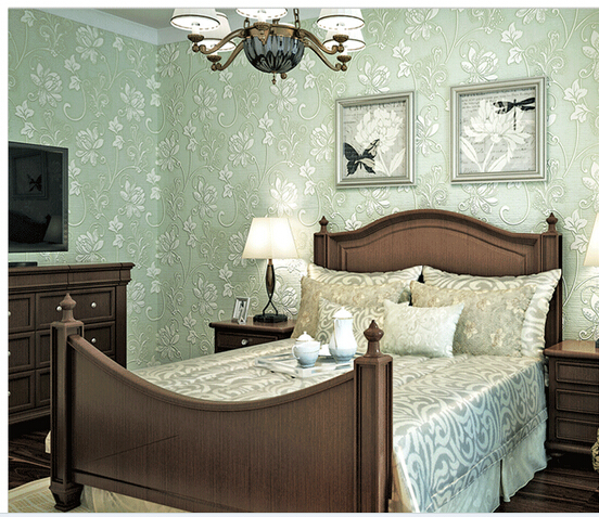 Light Green Bedroom Wallpaper New Bedroom Interior Design White Bedroom Armoire Bedroom Wallpaper Purple: European Super Thick Anaglyph Stereoscopic 3 D Non Woven