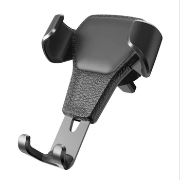 Car telescopic phone holder gravity sensing lazy bracket air conditioning air outlet mobile phone holder