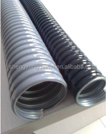 PVC coated stainless steel flexible braided metal hose