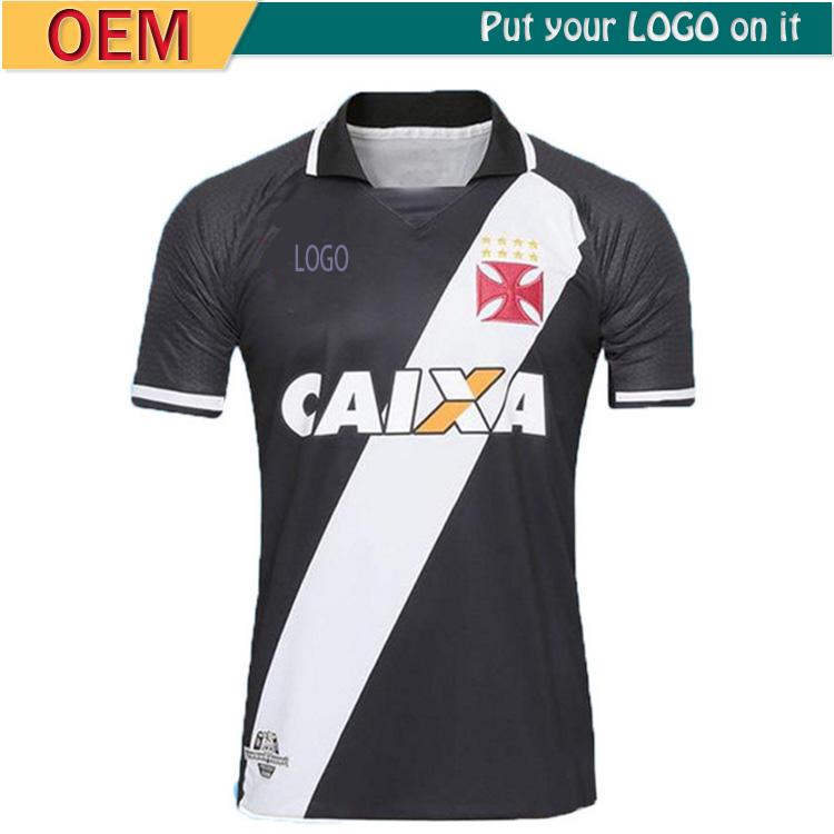 2017 2018 Brasil Vasco da Gama hogar lejos negro jersey de fútbol ...