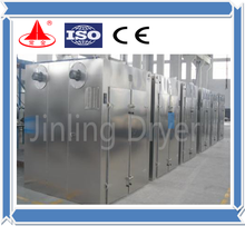 high quality GMP glass/resin/gelatine hot air tray dryer