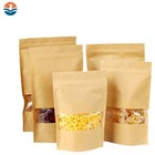 High Quality Kraft Paper Foil Packaging Pouch for Coffee with Valve 4oz 8oz/Coffee Zip