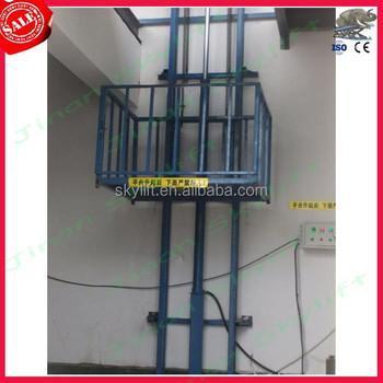 Indoor hydraulic elevator guide rail machine buy for Indoor elevator