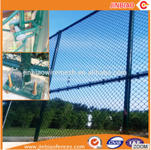 Decorative chain link fence dog kennel