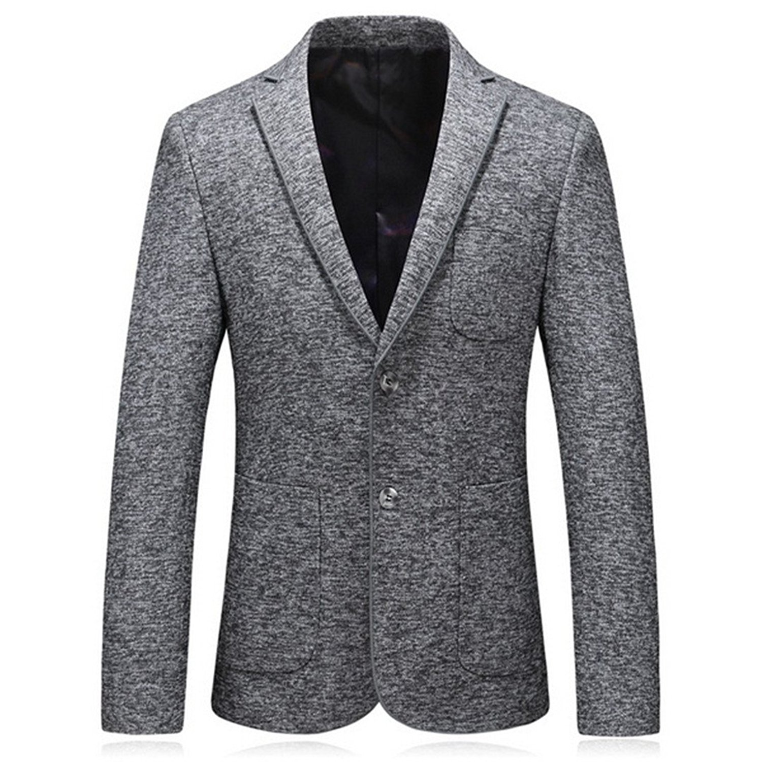 861d7532b Get Quotations · Suite Slim Suit Jacket Fashion New Men's Casual Jacket Two  Chinese Style Suit Jacket
