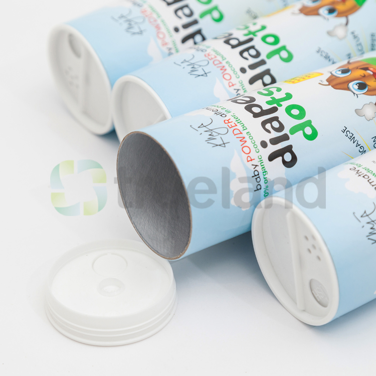 Powder Packaging Paper Tube with Spiece Shifter Top