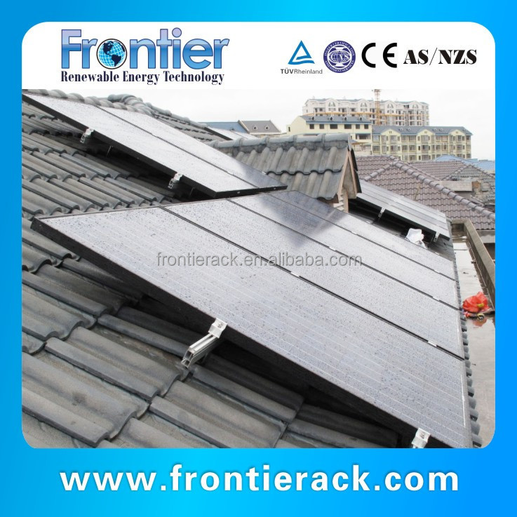Photovoltaic Mounting Systems For Tile Roof