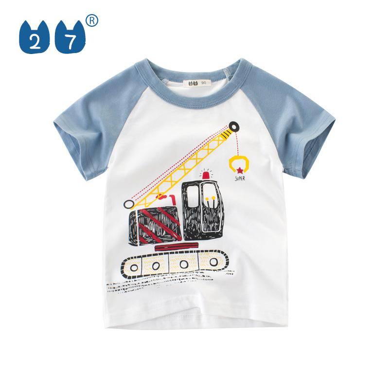 068027fd5 Tienda en línea precio competitivo manga raglán en contraste de camisetas  de verano para los niños