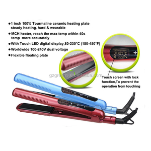 portable hair straightener for wet and dry hair