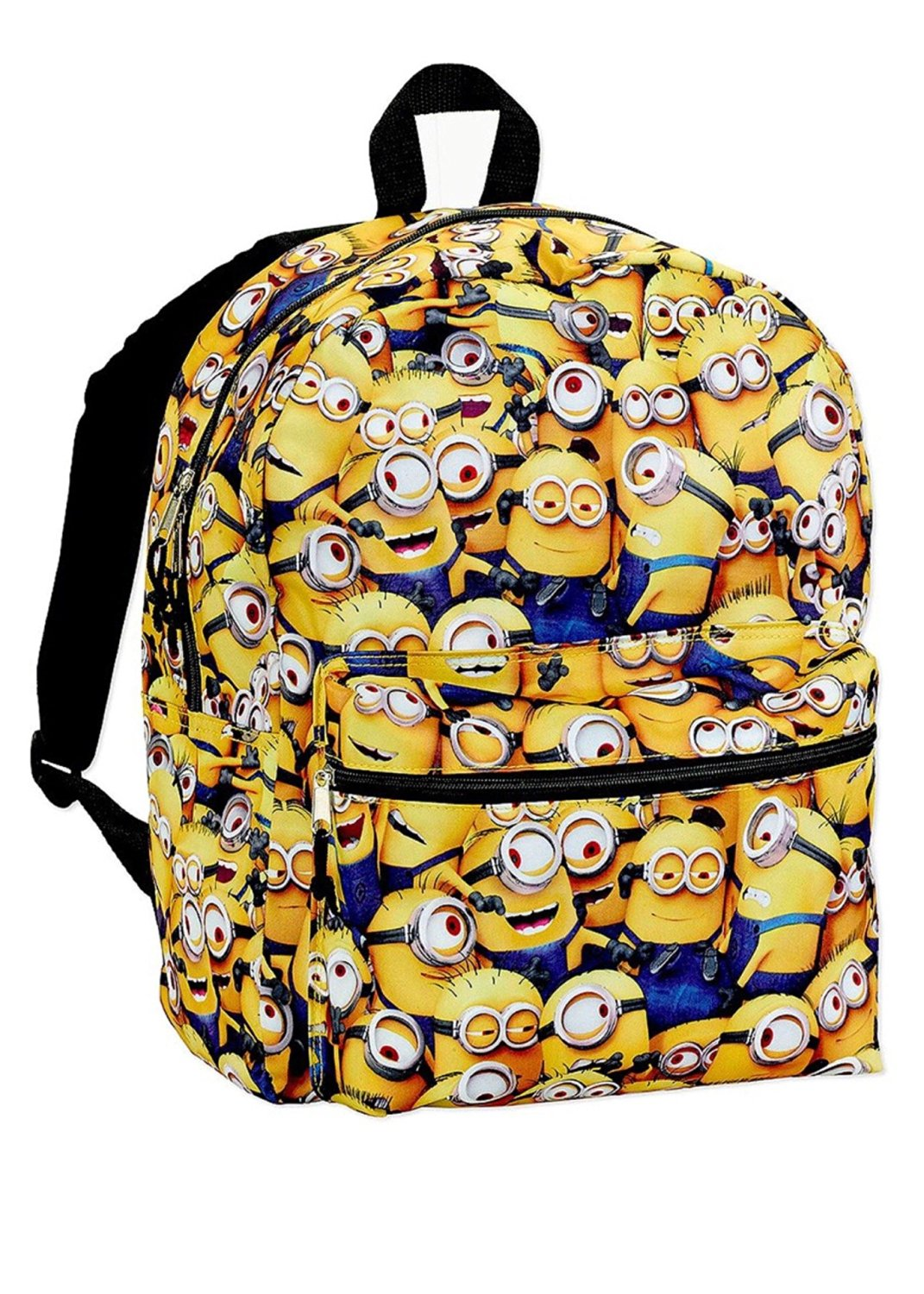 Despicable Me All Over Print Minions Characters Standard Size School Backpack - Kids
