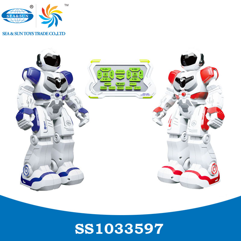 2017 Newest design remote control fighting robot toy 2 PCS