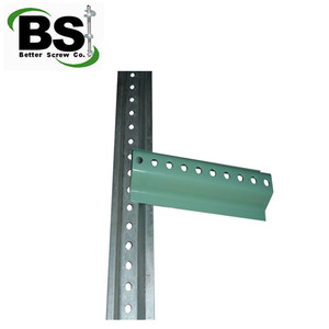 U channel traffic steel sign post