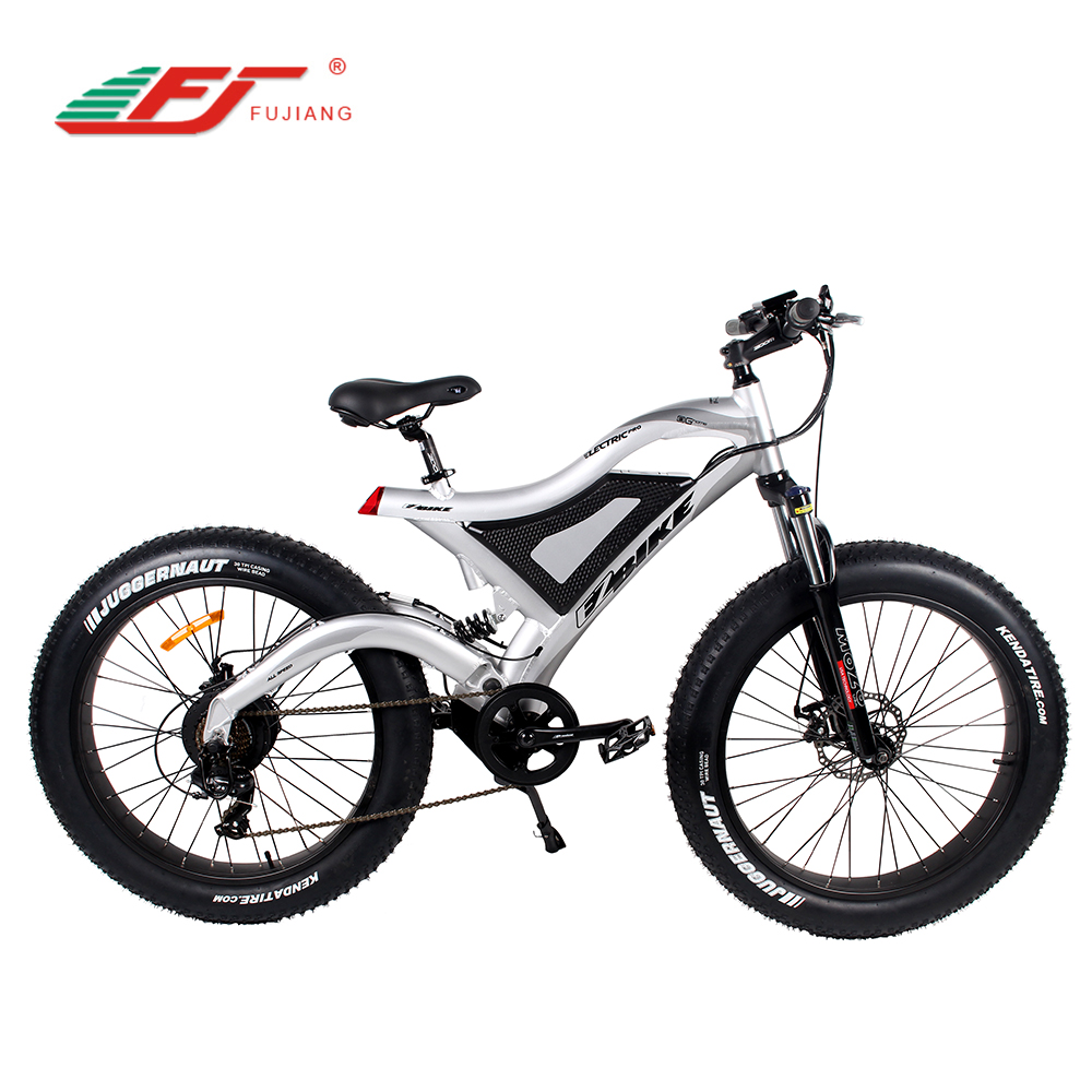 Low factory price 48V 500W 750W fat electric mountain bike with e bicycle kit, Optional
