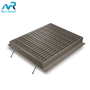 OEM&ODM Heavy duty stainless steel grating for sewer cover well cover safety tread