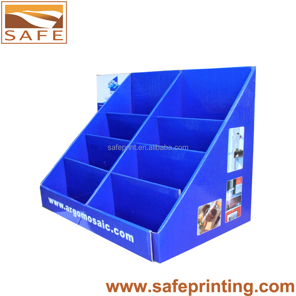 expo small table paper display box for leaflets