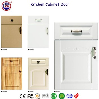 zhihua hot sale pvc kitchen cabinet door