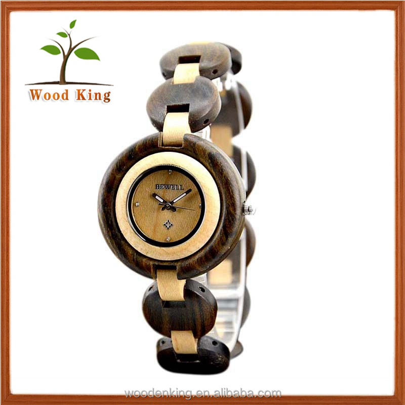 Han Edition Delicate Cheap Design Your Own Wooden Watch Women