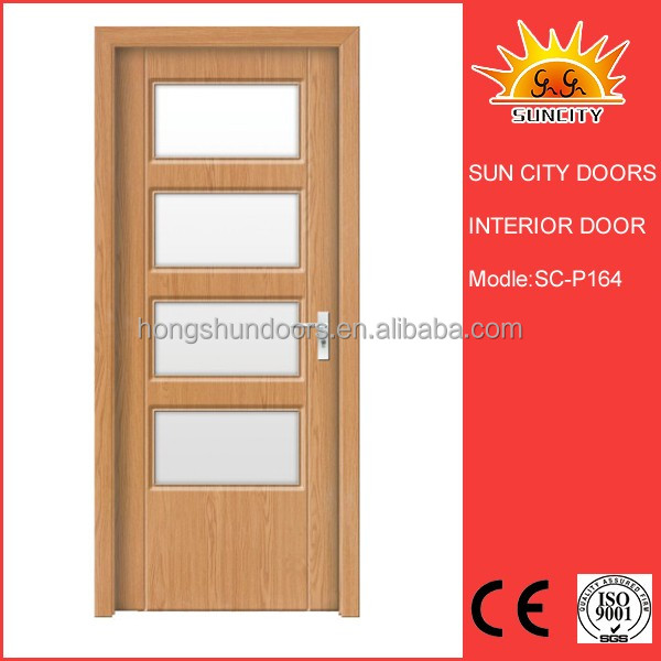 SC-P164 Wholesaler prices european style fiberglass interior door