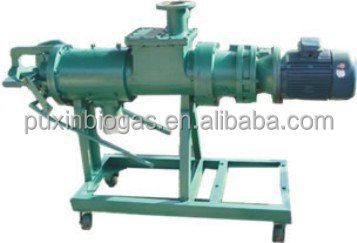 Manure-sludge solid-liquid separator to make fertilizer