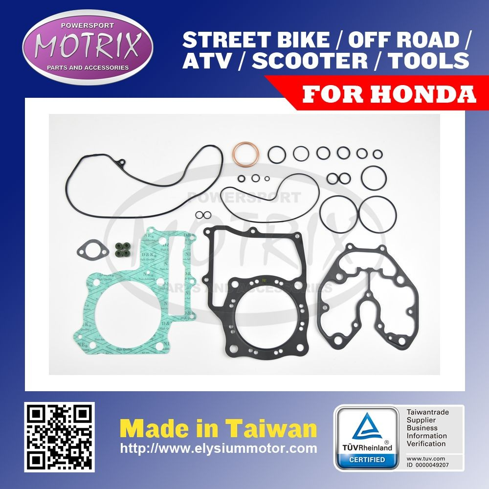 For Honda ATV TRX500 FA, FGA, FPA 01-09 COMPLETE SET GASKET
