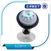 high quality mini multi-functional plastic compass for cars