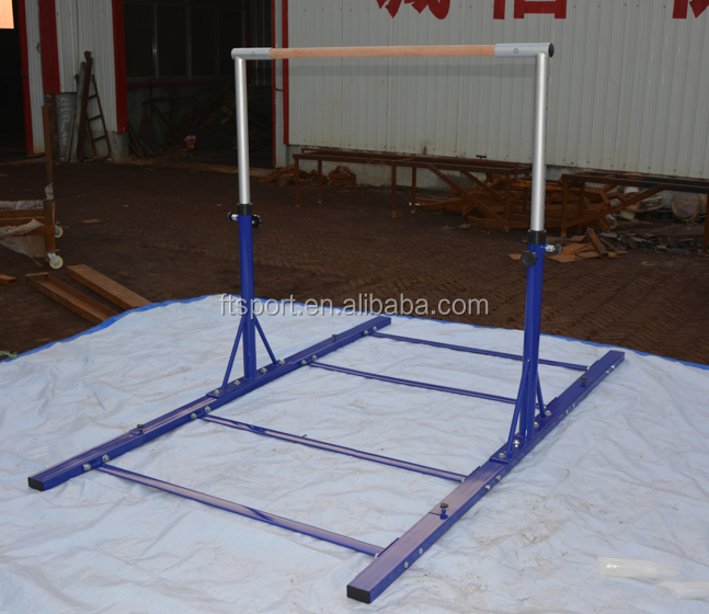 Heavy Duty Adjustable kids Gymnastics Bars/horizontal bar with extension legs(original factory)