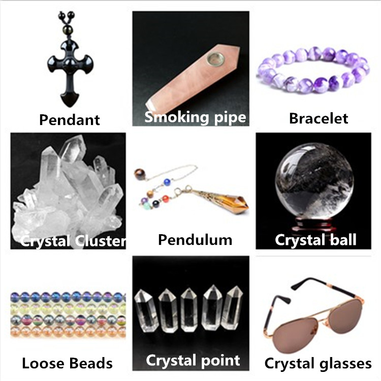 De cuarzo de titanio Aura cristal iridiscente de galvanoplastia de cristal de amatista de