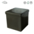 European Case Storage Leather Folding Lounge Chair Ottoman Chair