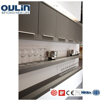 Top level lacquer wall unit kitchen cabinets door