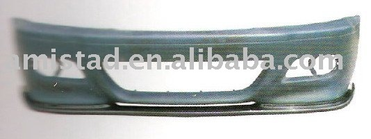 AUTO BODY PART FRONT BUMPER LIP H-STYLE FOR BMW E46