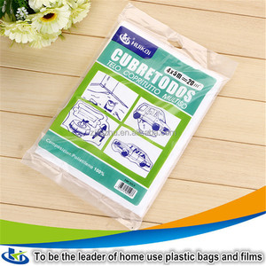 Jiangsu thin clear folding plastic dust sheet