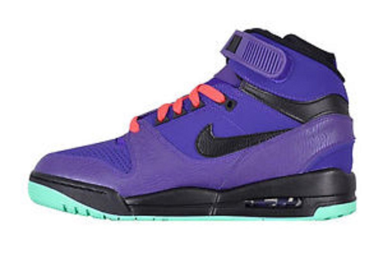 pretty nice 7d4cb 35f83 Get Quotations · Mens Nike Air Revolution Basketball Shoes 599462-500 purple teal black  size 11.5