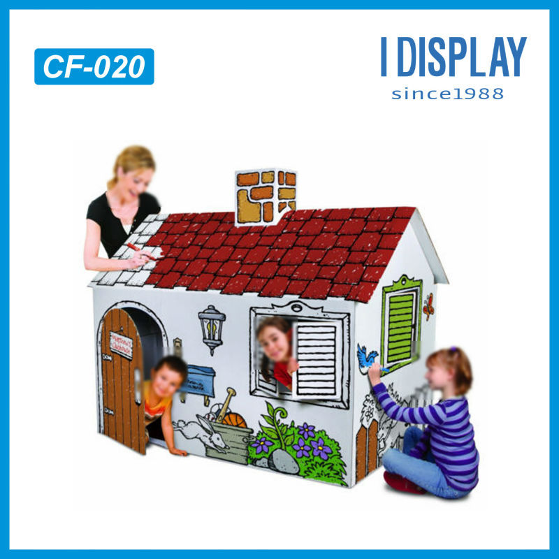 Cardboard Play House, Cardboard Play House Suppliers and ...