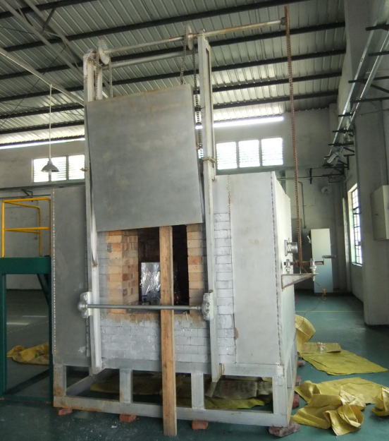 Oil type burning oven for casting industry mold shell heating treatment burning furnace