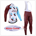 2016 Pro Team Cycling Winter Thermal Fleece Cycling Clothing Winter Polyester Cycling Jersey Mountain ropa ciclismo
