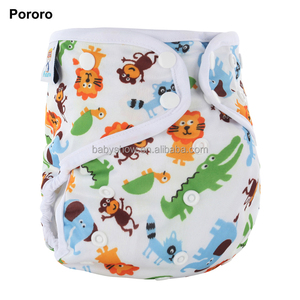 pororo washable hemp all in one cloth diaper