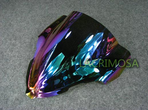 Ик цветные поднятый ветрового стекла лобовое стекло для Suzuki GSXR GSX-R 1300 GSX1300R Hayabusa 1999 - 2007